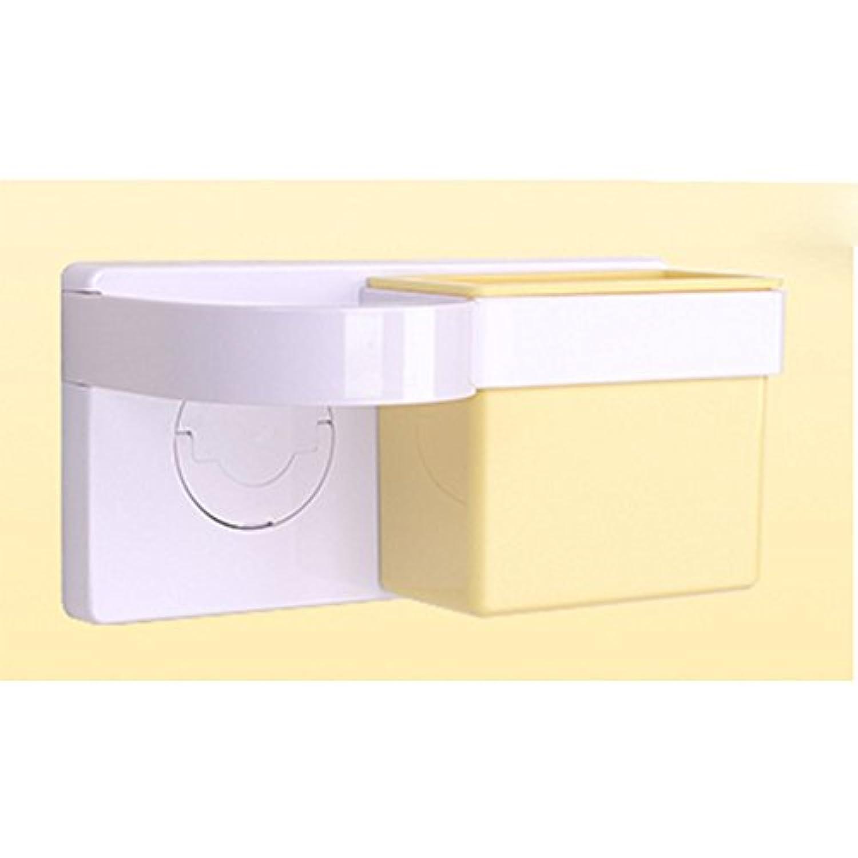 HAIZHEN 浴室用ラック シェルフブラケットラックフリートイレットシェルフサクションウォールバスルームヘアドライヤーシェルフハンガーブラケット インストールが簡単 ( 色 : 5 )