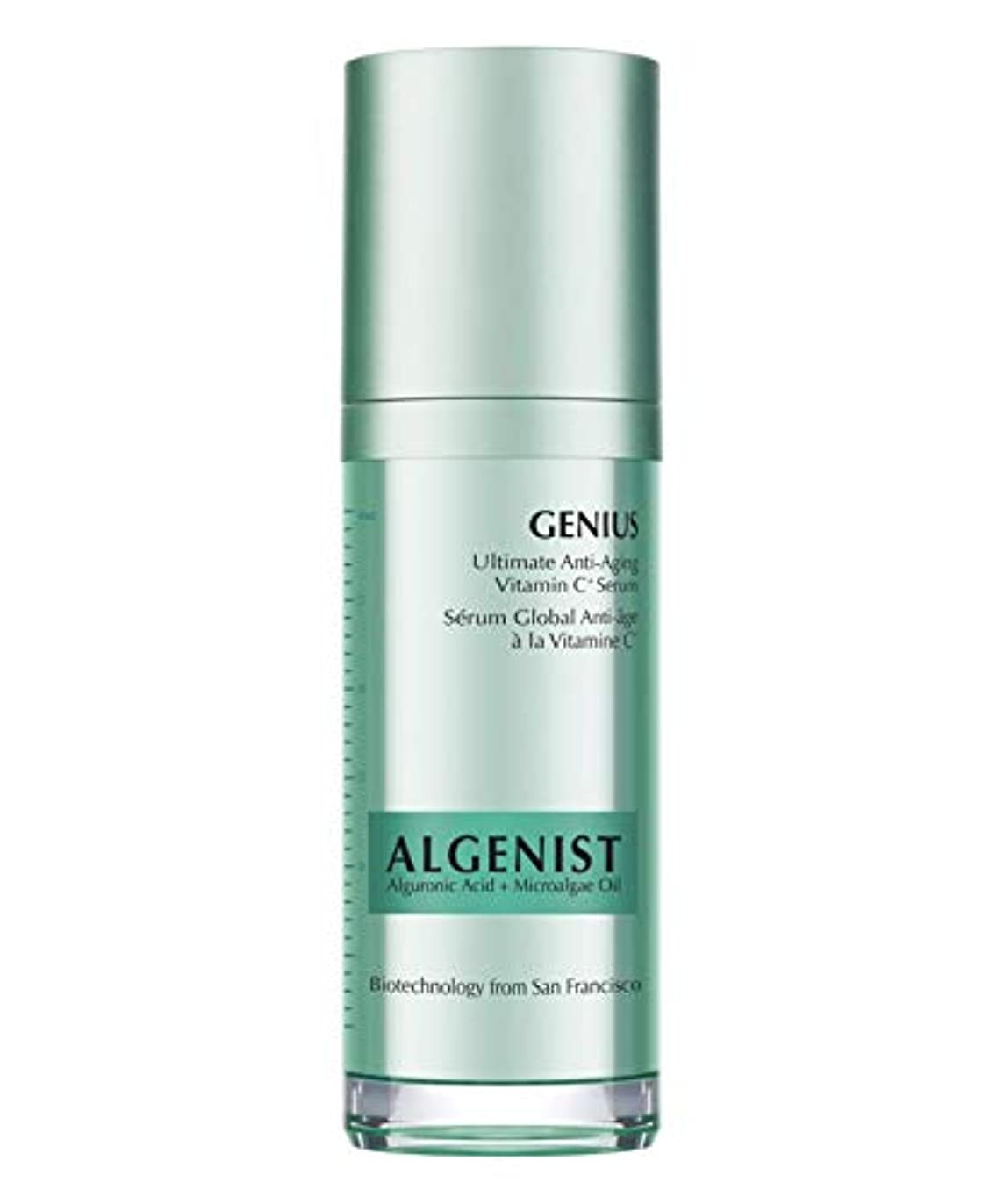 納屋キリン凝縮するAlgenist Genius Ultimate Anti-Aging Vitamin C Serum 30ml