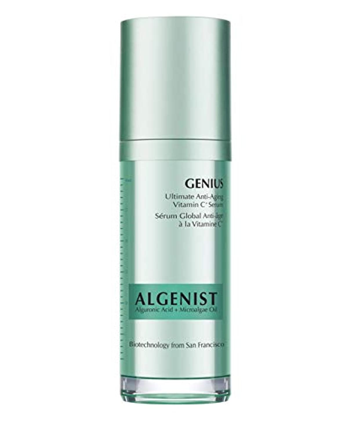 リボン縁石かき混ぜるAlgenist Genius Ultimate Anti-Aging Vitamin C Serum 30ml
