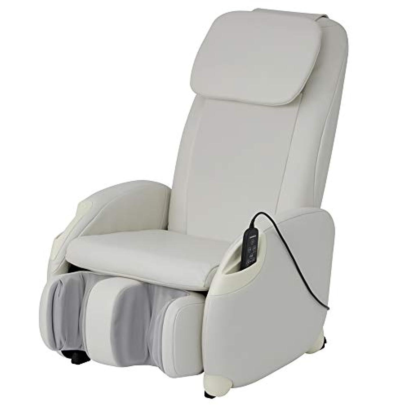 受動的ラフ散るスライヴ マッサージチェア くつろぎ指定席Light CHD-3400 ホワイト