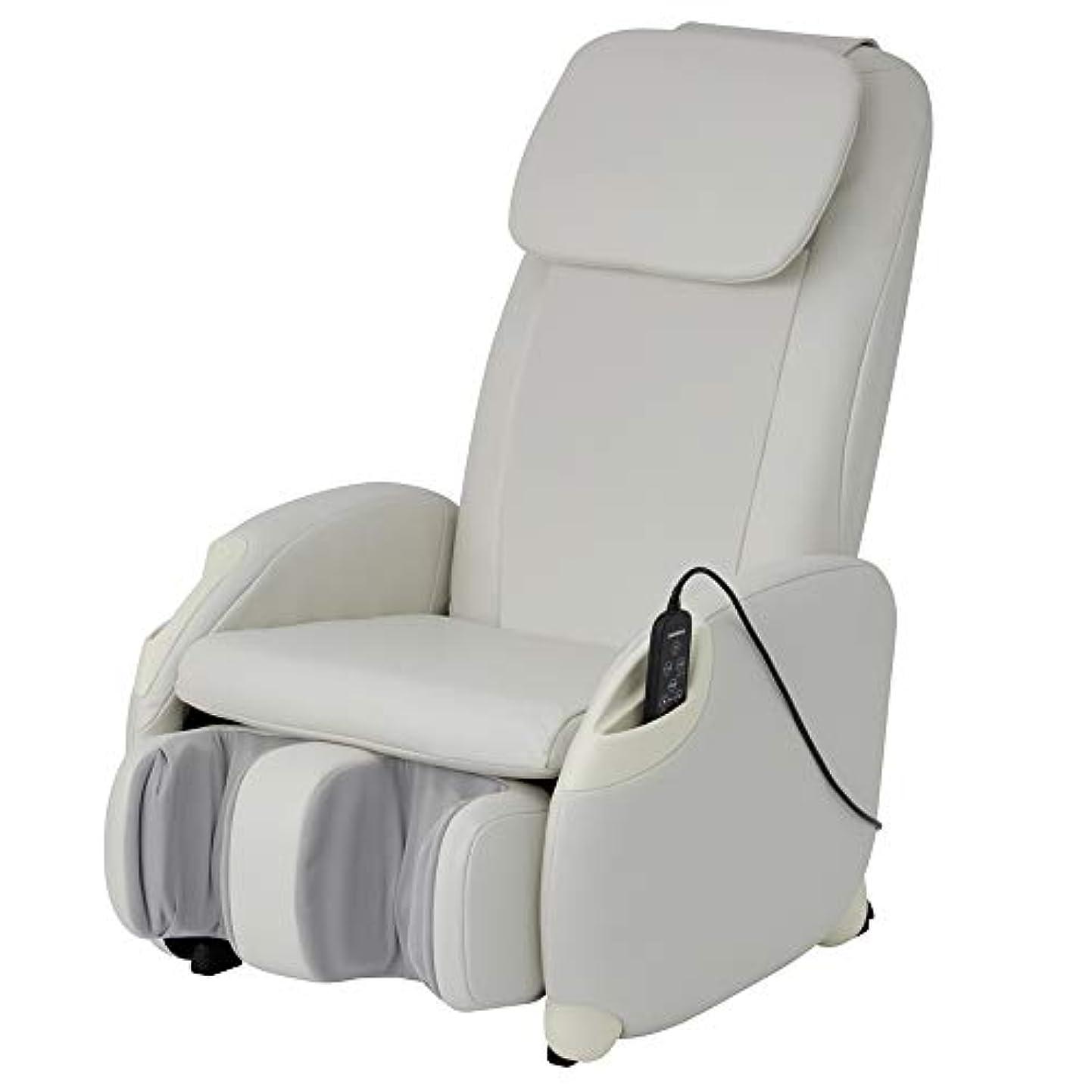 変形する小間転送スライヴ マッサージチェア くつろぎ指定席Light CHD-3400 ホワイト