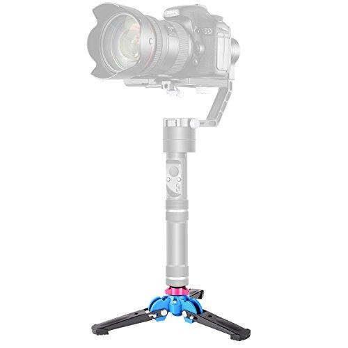 [해외]Neewer 접이식 삼각대 모노 포드 스탠드베이스 三 足 지원 1 | 4inch 나사 된 DSLR 카메라~ 모노 포드~ Zhiyun Crane V2 | Crane M | Smooth Q | Smooth 3 III II | Feiyu G4~3 축 휴대용 짐벌 안정기에 대응/Neewer Folding type tripod single leg...
