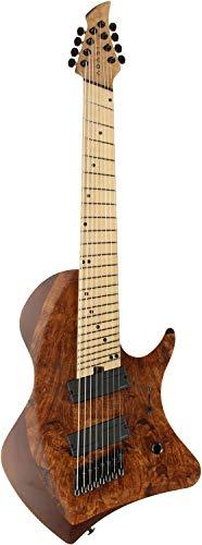 Abasi Guitars アバシ・ギターズ エレキギター Custom8 Multi Scale Maple Burl Top/Maple Fingerboard (Natural Satin)