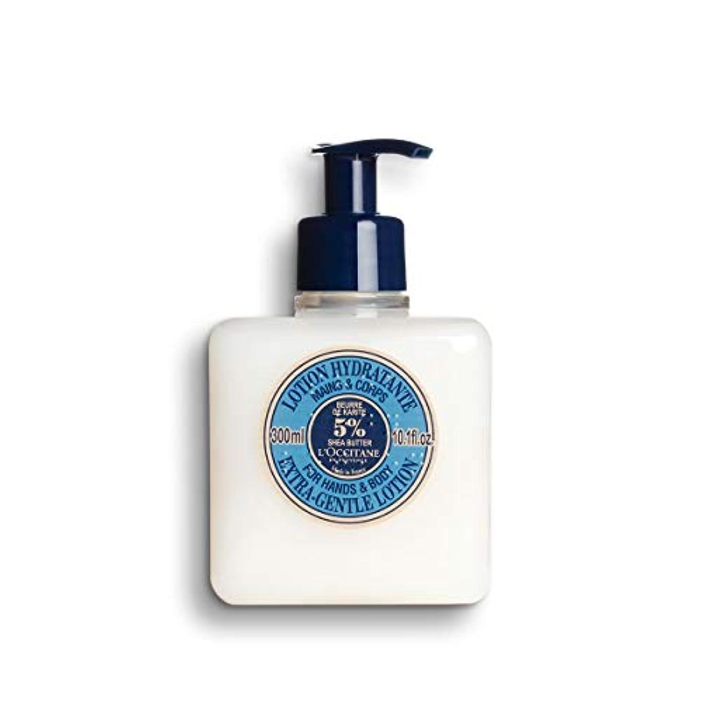 敬意を表して香水でるロクシタン(L'OCCITANE) シア ジェントルローション ハンド&ボディ 300ml