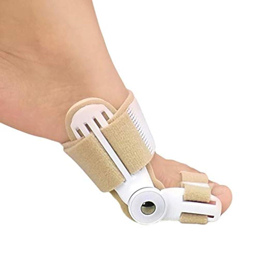 中古胸木Bunion Corrector Bunion SplintsとBig Toe Straightteners SeparatorナイトタイムHallux外陰部のスプリント、Bunion Relief (Size : Medium)