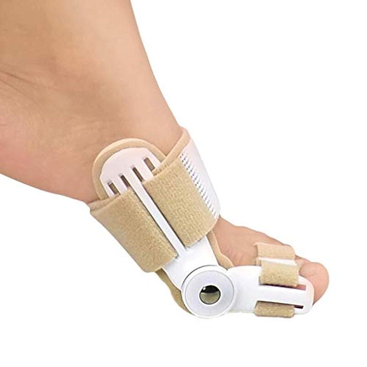 警告する論理的に回復するBunion Corrector Bunion SplintsとBig Toe Straightteners SeparatorナイトタイムHallux外陰部のスプリント、Bunion Relief (Size : Medium)