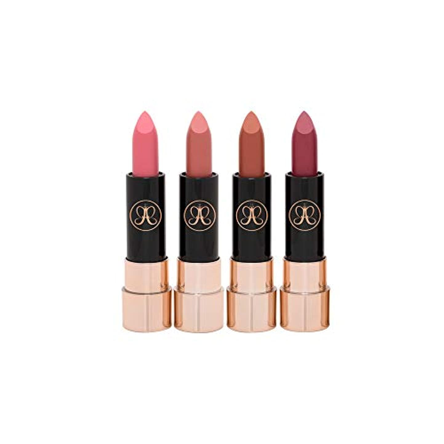 エクステント十代の若者たちバッジMatte Lipstick Nudes Set マット リップスティック ヌーディ セット