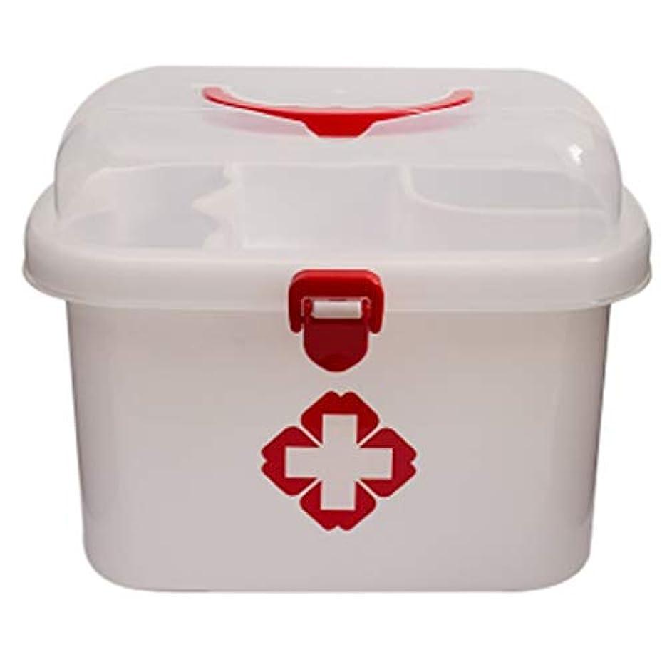 カプセルライオン不正直LLSDD リビング薬収納ボックスポータブル救急箱ホーム薬収納ボックス