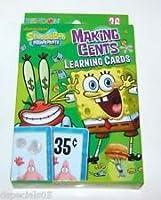 Nickelodeon Spongebob Squarepants Money Makingセント学習カード