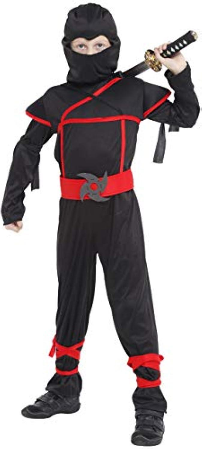 またはどちらかハードウェアジョブCuteshower ハロウィン 衣装 子供 忍者 仮装 コスチューム 男の子 M 110-120cm