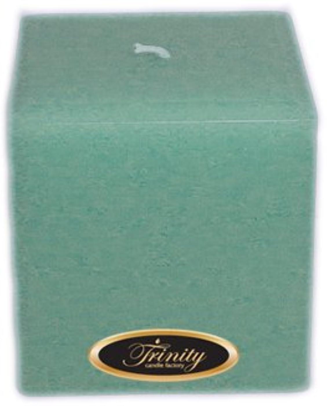 Trinity Candle工場 – Morning Mist – Pillar Candle – 正方形 – 4 x 4