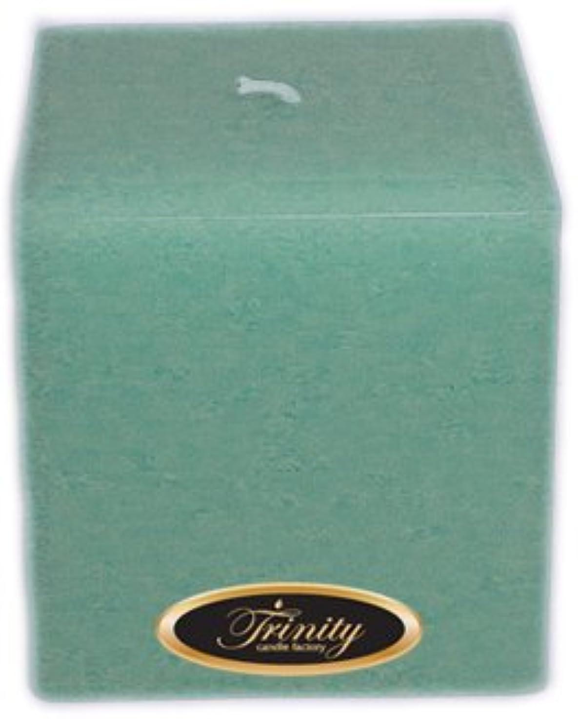 ソーダ水ベース髄Trinity Candle工場 – Morning Mist – Pillar Candle – 正方形 – 4 x 4