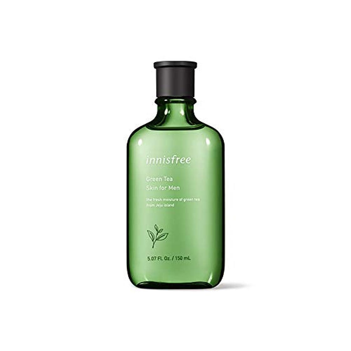 トロリーバス近代化移動イニスフリー Innisfree グリーンティースキンフォーメン(150ml) Innisfree Green Tea Skin For Men(150ml) [海外直送品]