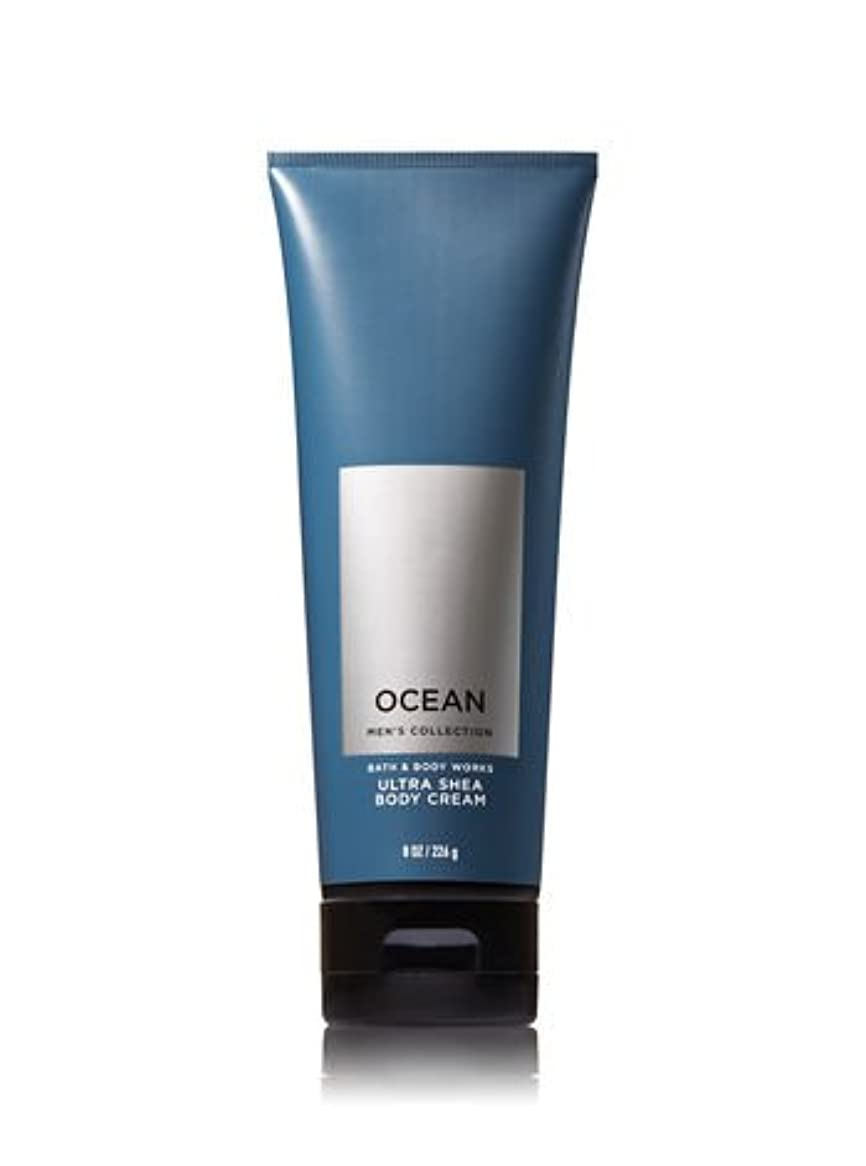 飢え剥ぎ取る添加【並行輸入品】Bath and Body Works Ocean for Men Ultra Shea Body Cream 226 g