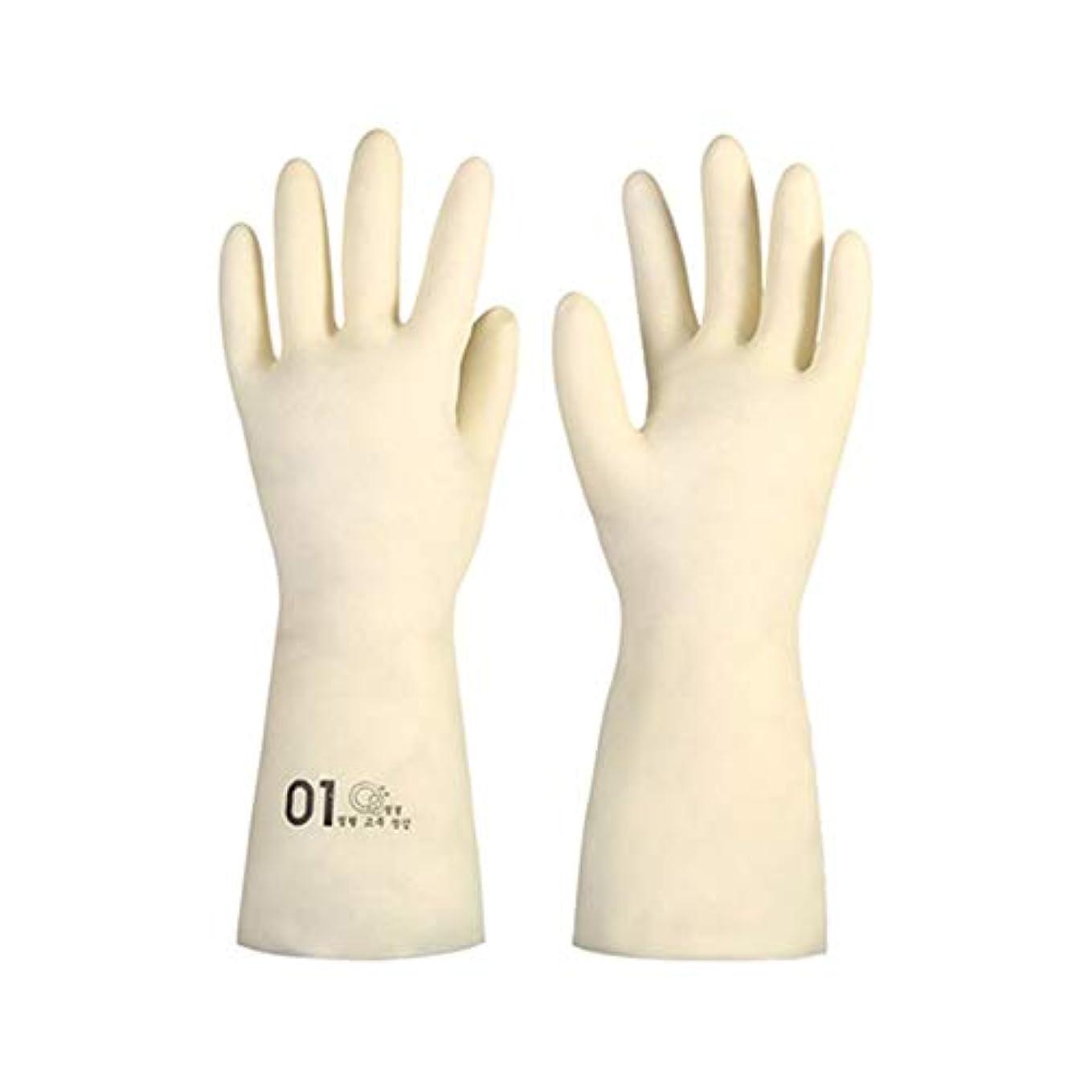 告白可塑性パニックBTXXYJP キッチン用手袋 手袋 掃除用 ロング 耐摩耗 食器洗い 手袋 水槽掃除用手袋 (Color : M/1号, Size : M)
