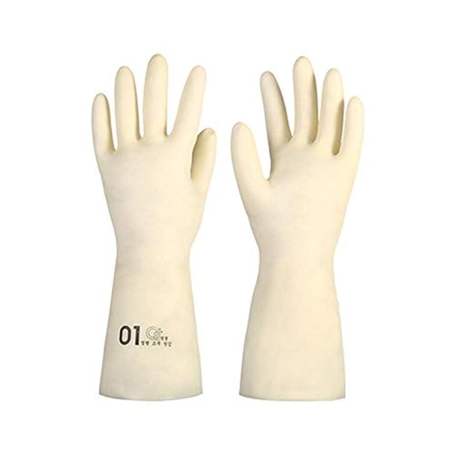 飼い慣らすナビゲーションマウントBTXXYJP キッチン用手袋 手袋 掃除用 ロング 耐摩耗 食器洗い 手袋 水槽掃除用手袋 (Color : M/1号, Size : M)