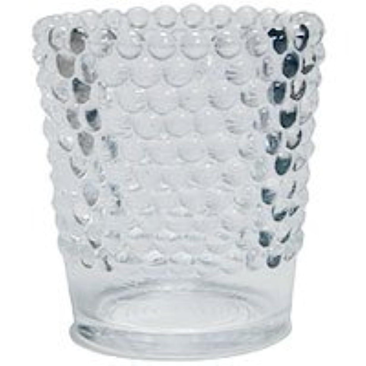 ピアース泥オセアニア【カメヤマ】キャンドルホルダー ホビネルグラス クリスタル 6個セット
