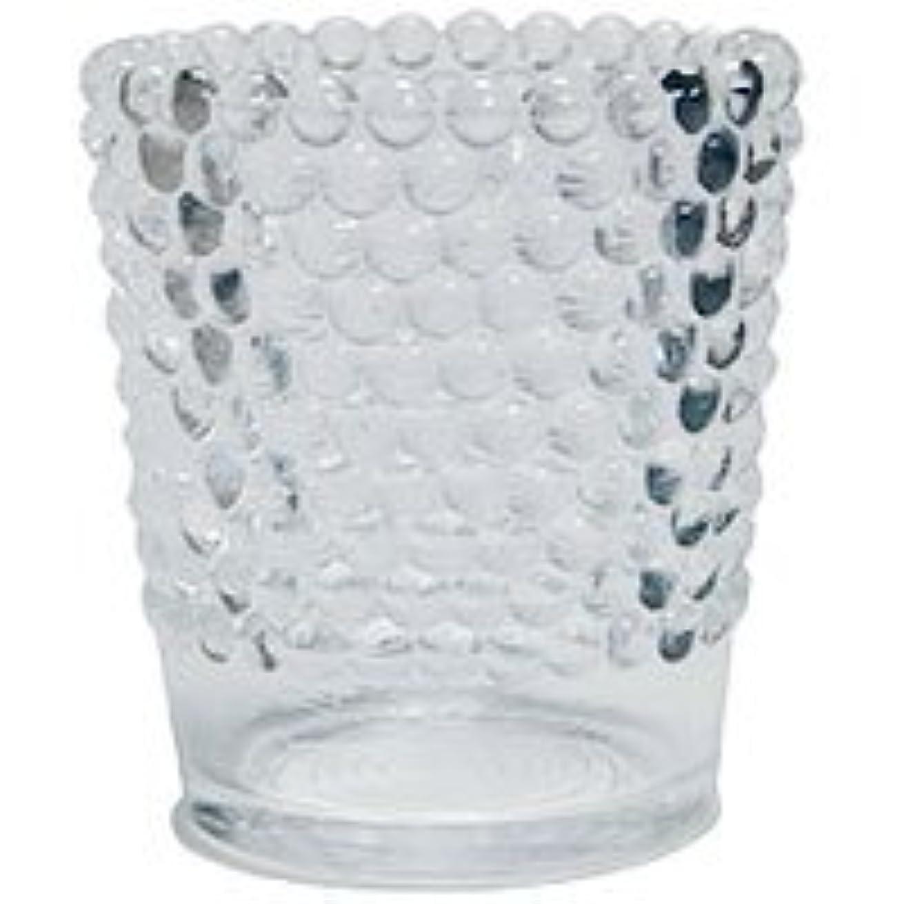 定義するプランターバランスのとれた【カメヤマ】キャンドルホルダー ホビネルグラス クリスタル 6個セット