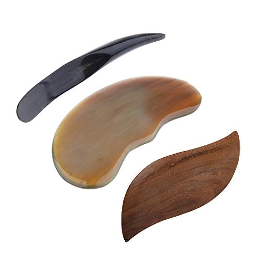 床を掃除するセッティングプライムグアシャボード マッサージスティック マッサージツール 解消グッズ ストレス解消 贈り物 3個入