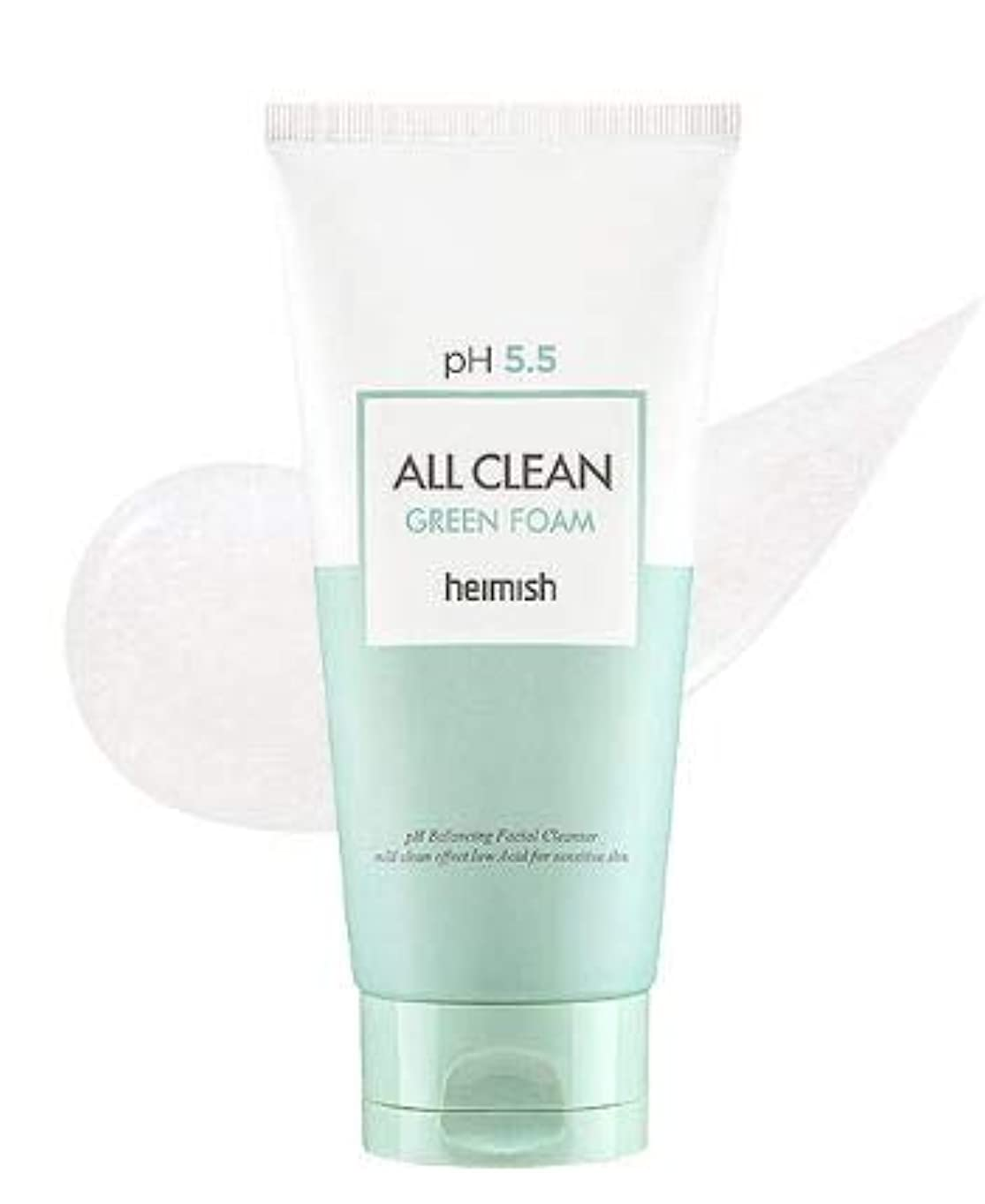 秘密のスキー神経障害[heimish] All Clean Green Foam 150g / [ヘイミッシュ] オールクリーン グリーン フォーム 150g [並行輸入品]