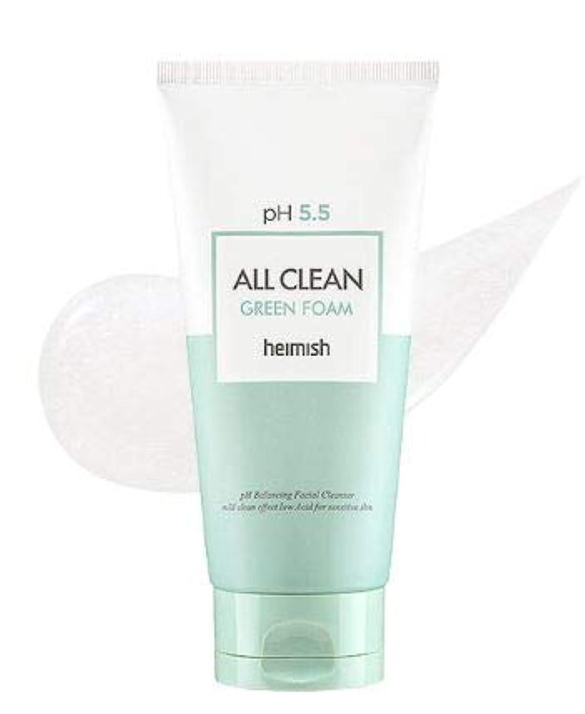 しょっぱいヒゲ押し下げる[heimish] All Clean Green Foam 150g / [ヘイミッシュ] オールクリーン グリーン フォーム 150g [並行輸入品]