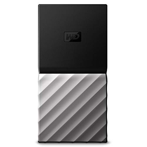 WD 1TB Black/Silver My Passport SSD - USB Type C - WDBKVX0010PSL-WESN