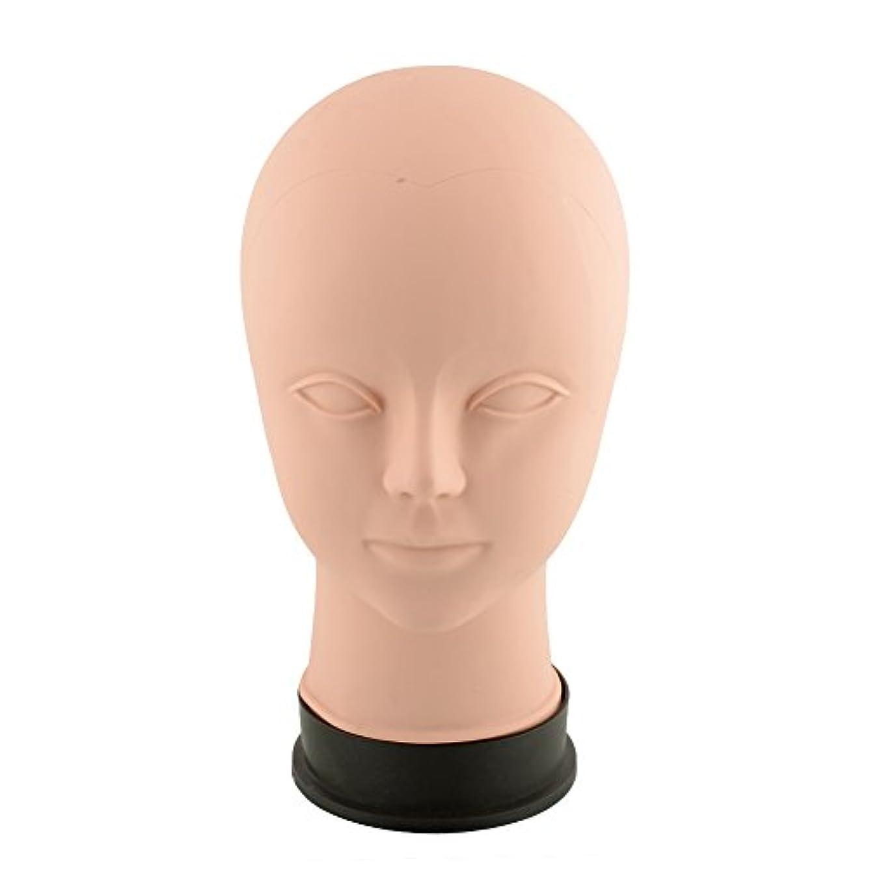 枕お世話になったペデスタルKicode ビューティートレーニング マネキンは練習をメイクアップ フラットヘッド瞳の偽まつげ マネキンマネキンヘッド