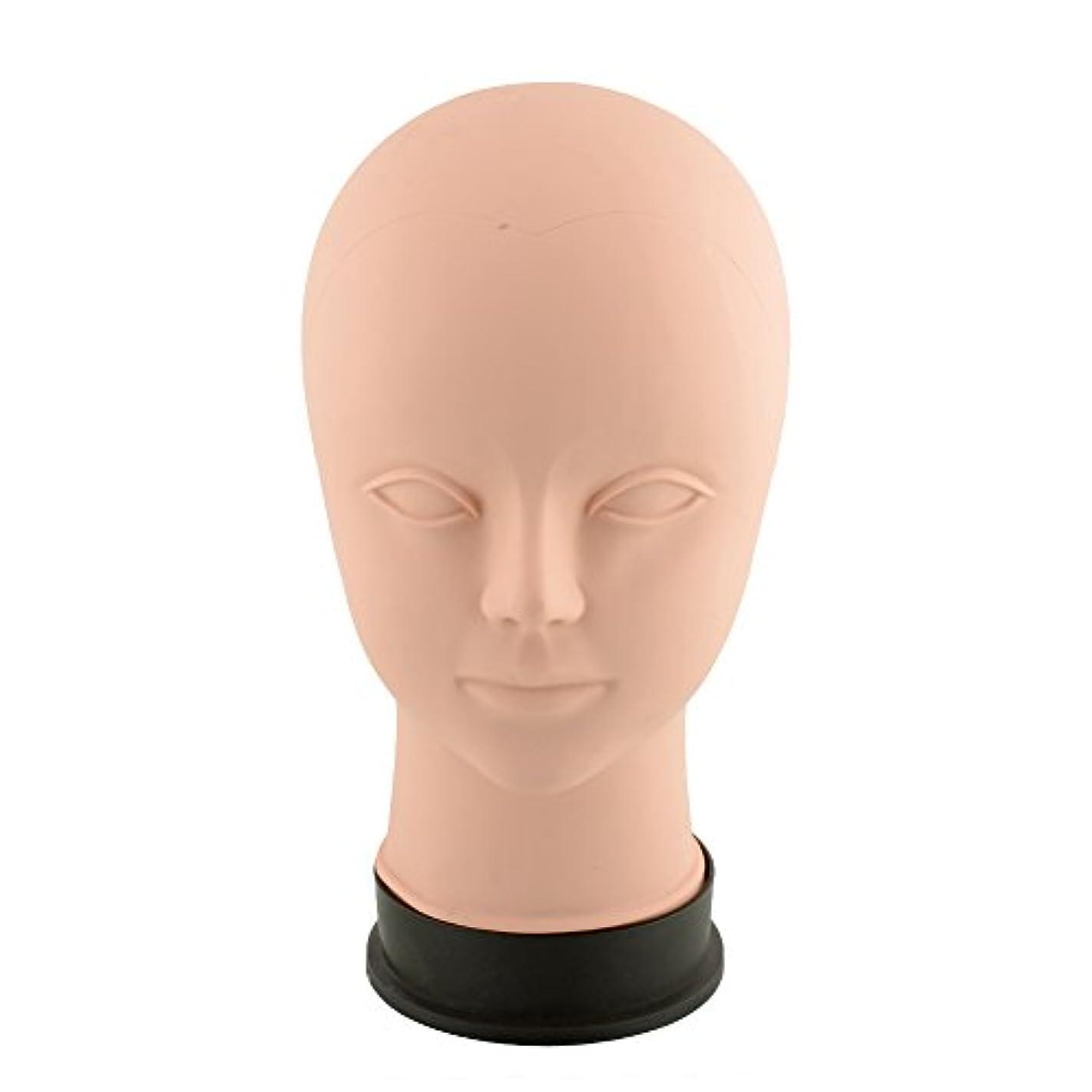 これまで不当論理Kicode ビューティートレーニング マネキンは練習をメイクアップ フラットヘッド瞳の偽まつげ マネキンマネキンヘッド