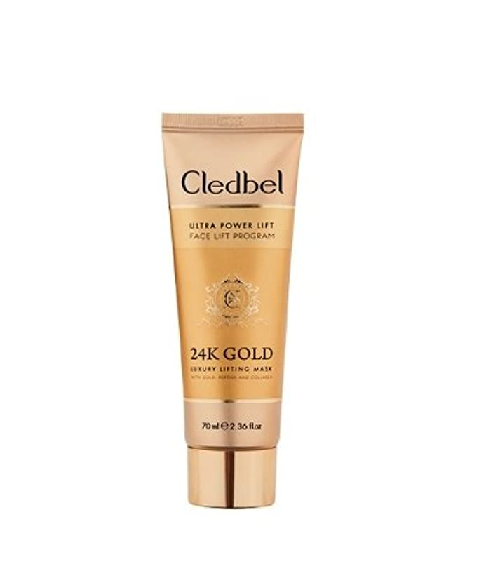 必須ウイルスうぬぼれた[Cledbel]Cledbel Ultra Power Lift 24K Gold Luxury Lifting Mask 70ml