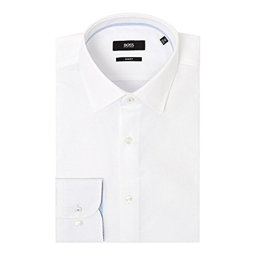 ペンダント検体相対性理論(ヒューゴ ボス) Hugo Boss メンズ トップス シャツ Jesse Slim Tonal Structure Shirt With Trim [並行輸入品]