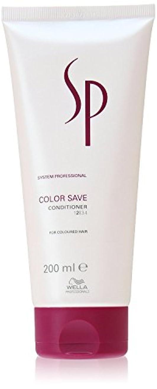 観察脳香ばしいウェラ SP カラーセーブ コンディショナー Wella SP Color Save Conditoner 200 ml [並行輸入品]