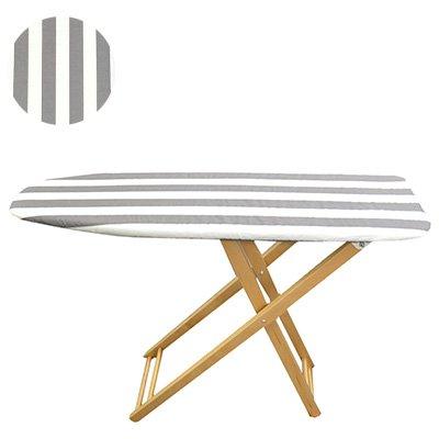 BIERTA(ビエルタ) Ironing Board アイロン台 ハイタイプ ストライプグレー