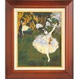 ししゅうキット 876(ベージュ) アートギャラリー 「舞台の踊り子」ドガ作 4479g
