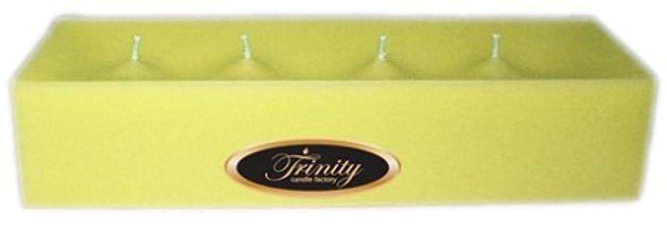 アジア参照銛Trinity Candle工場 – Gardenia – Pillar Candle – 12 x 4 x 2 – ログ