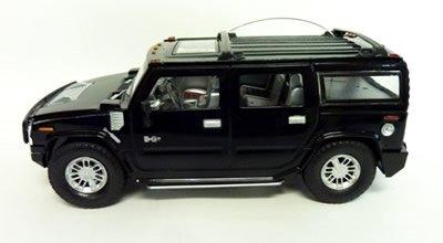 1/24 RC ハマー H2 SUV ノーマルバージョン ラジコン Hummer H2 SUV Normal Version GK ブラック
