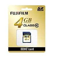 富士フイルム SDHC-004G-C10 SDHCカード 4GB CLASS10