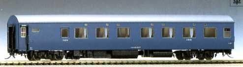 HOゲージ車両 オロネ10 (青) HO-503