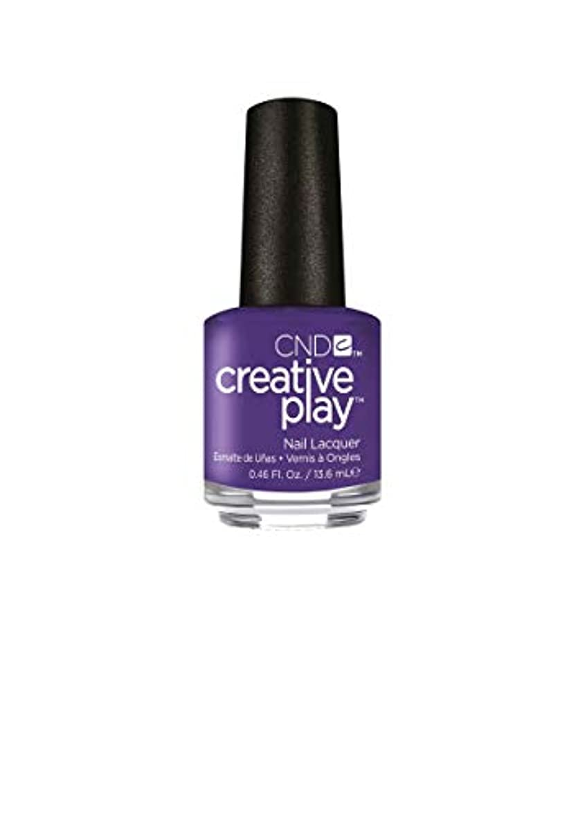 安全でないサッカー与えるCND Creative Play Lacquer - Isn't She Grape? - 0.46oz / 13.6ml