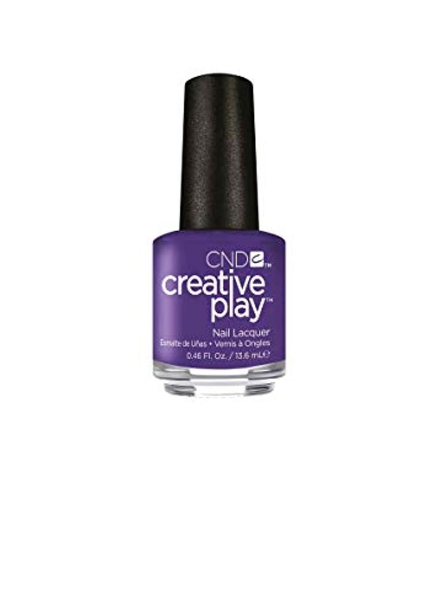不安定依存する一貫性のないCND Creative Play Lacquer - Isn't She Grape? - 0.46oz / 13.6ml