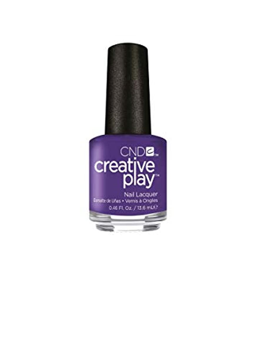 花火ブレイズ感嘆CND Creative Play Lacquer - Isn't She Grape? - 0.46oz / 13.6ml
