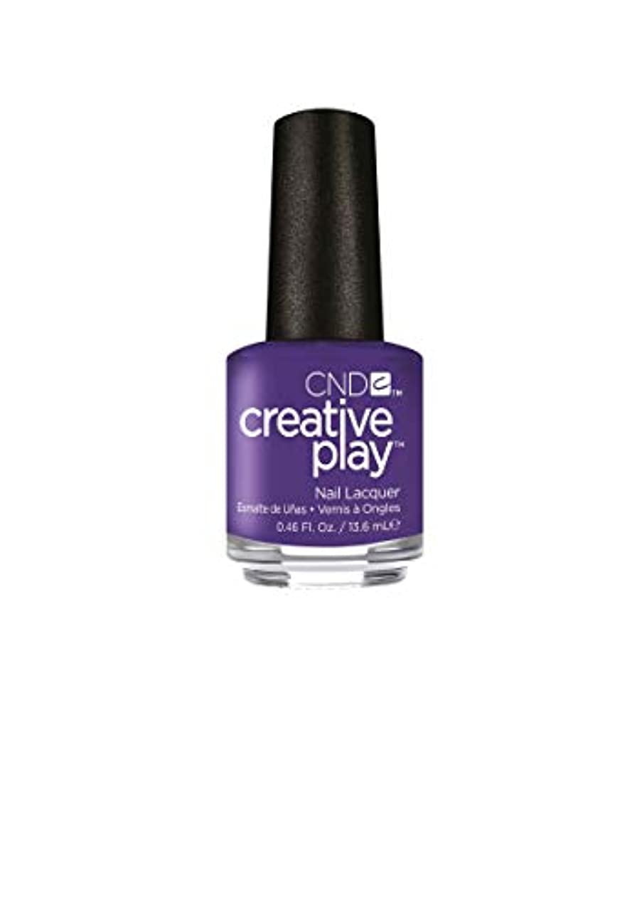 下向きいちゃつく起きているCND Creative Play Lacquer - Isn't She Grape? - 0.46oz / 13.6ml