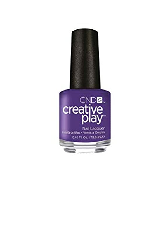 手書き大通り偽造CND Creative Play Lacquer - Isn't She Grape? - 0.46oz / 13.6ml