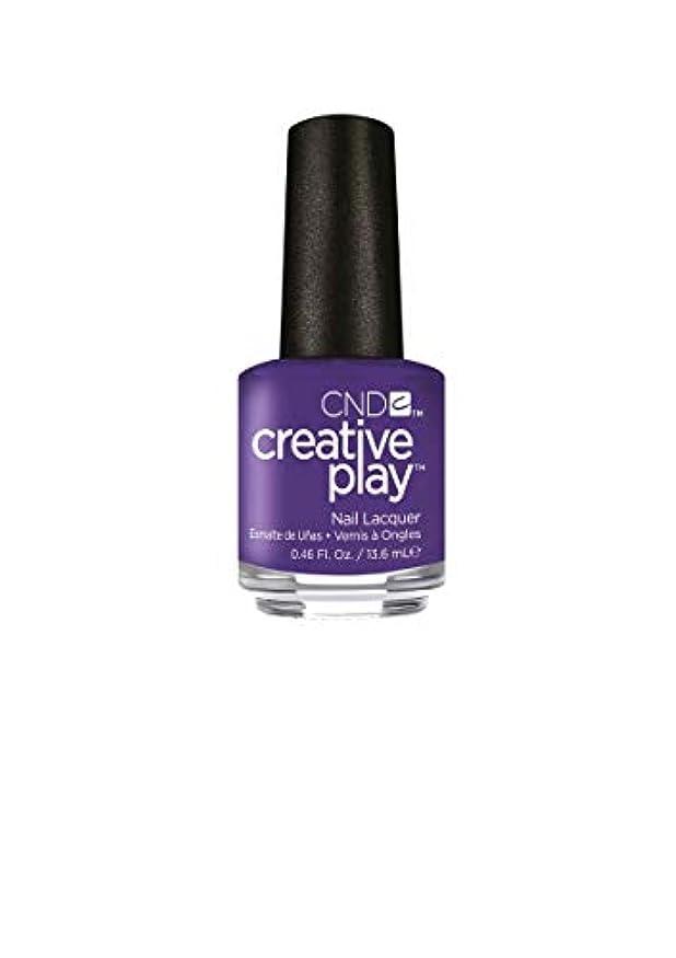 販売員火星ジャグリングCND Creative Play Lacquer - Isn't She Grape? - 0.46oz / 13.6ml