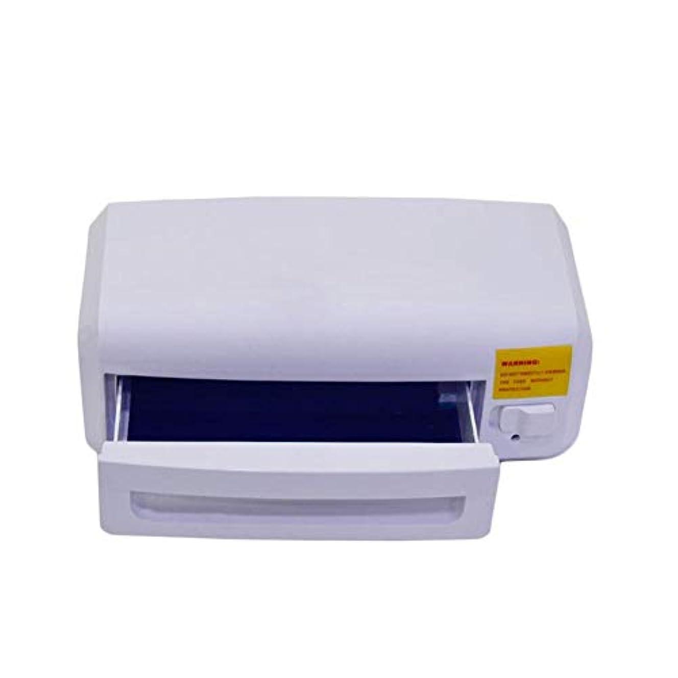 レトルトまたはオフネイル滅菌装置8ワット消毒機UVタオル消毒キャビネットマニキュア美容ツールUV滅菌サロン消毒機