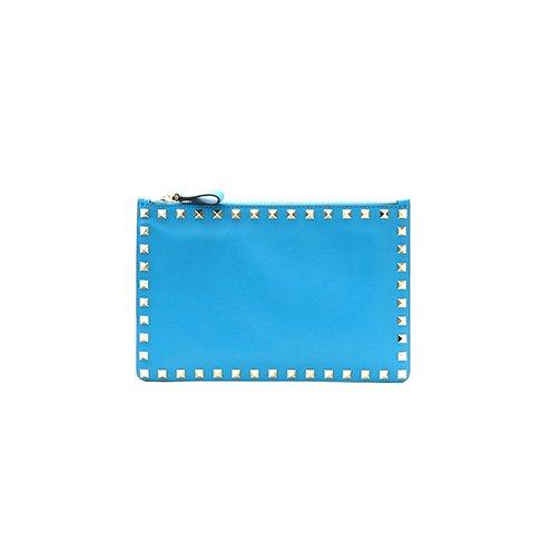 ヴァレンティノ VALENTINO クラッチ クラッチバッグ BLUE [並行輸入品]
