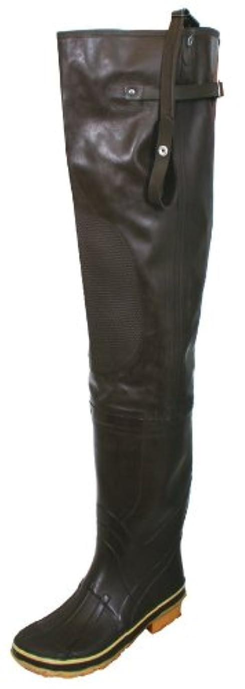 指定する存在する繁殖Calcuttaメンズゴムヒップ滑り止めブーツ