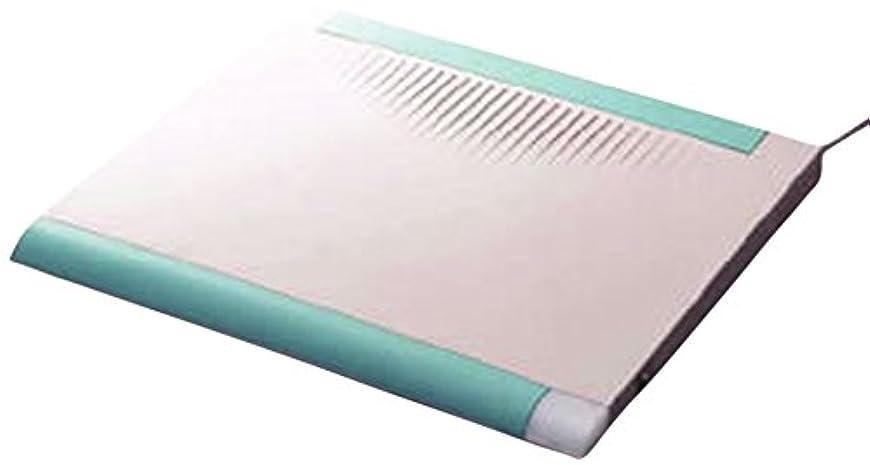 キャプションリブ語温波式足温器 デスクスパ