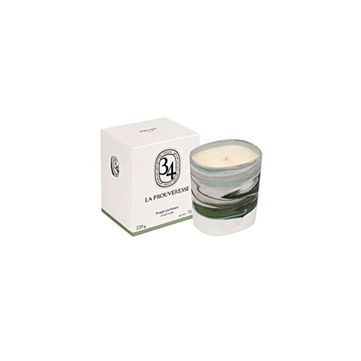 ソフトウェア事故キロメートルDiptyque Collection 34 La Prouveresse Scented Candle 220g (Pack of 2) - ラProuveresse Diptyqueコレクション34香りのキャンドル220...