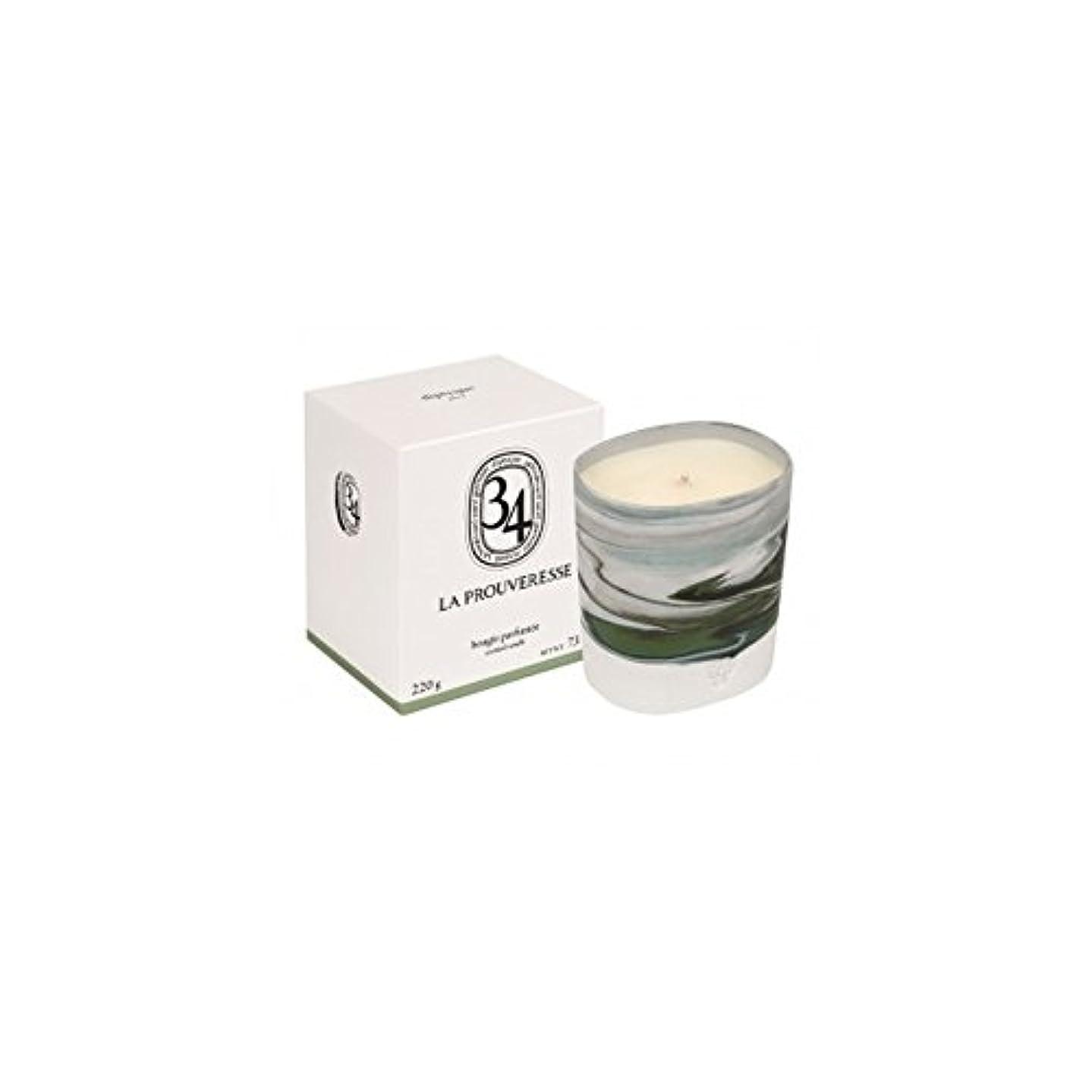 甥我慢する隣接Diptyque Collection 34 La Prouveresse Scented Candle 220g (Pack of 2) - ラProuveresse Diptyqueコレクション34香りのキャンドル220...