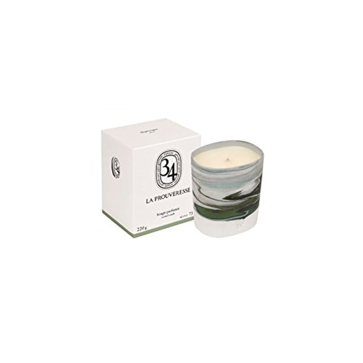 Diptyque Collection 34 La Prouveresse Scented Candle 220g (Pack of 2) - ラProuveresse Diptyqueコレクション34香りのキャンドル220...
